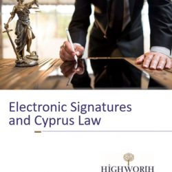 Electronic Signature & Cyprus Law
